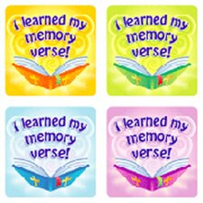 I Learned My Memory Verse