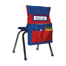 "Chairback Buddy, 15""x2""x19"", Blue/Red"