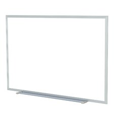 Aluminum Painted Steel Magnetic Whiteboard - Markers & Eraser
