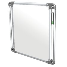 "Nexus Double-Sided Portable 2' 3.88"" x 2' 3.88"" Whiteboard"