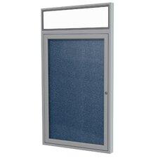 1 Door Bulletin Board