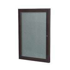 1 Door Enclosed Vinyl Bulletin Board