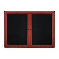 2 Door Ovation Fabric 3' x 5' Bulletin Board