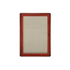 1 Door Ovation Fabric 3' x 2' Bulletin Board