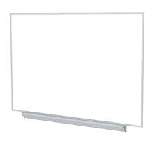 Aluminum Frame Premium Porcelain Magnetic Whiteboard - 4 Markers & Eraser