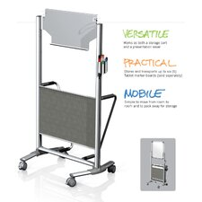 Nexus Caddy Storage Cart / Easel