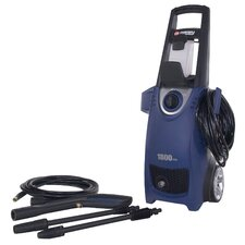 1,800PSI, 1.5GPM Electric Pressure Washer with Detergent Tank