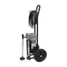 25' Hose SV Cart with X-Tip Spray Gun and Filter