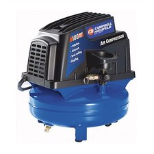 1 Gallon Electric Oil Free Tank Mounted Air Compressor