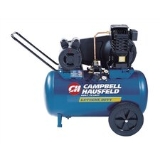 20 Gallon Electric Oil Lubricated Horizontal Air Compressor