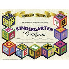 <strong>Hayes School Publishing</strong> Certificates Kindergarten 30/pk