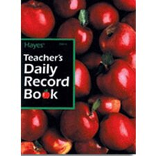 <strong>Hayes School Publishing</strong> Teachers Daily Record Book 40