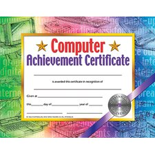 Certificates Computer (Set of 30)