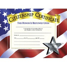 Certificates Citizenship 30 Pk