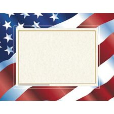 Stars N Stripes Certificate Border