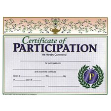 Certificates Of Participation 30/pk