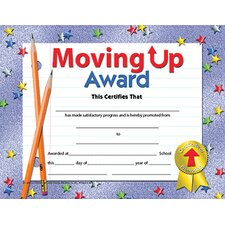 Moving Up Award