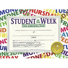 Student Of The Week 30/pk 8.5 X 11