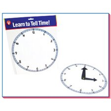 Blank Clock Kit 6 Clocks