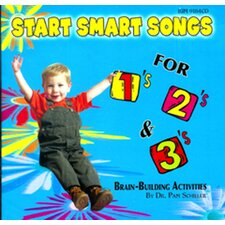 Start Smart Songs For 1s 2s & 3s cd