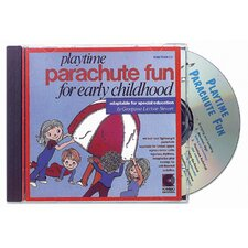 <strong>Kimbo Educational</strong> Playtime Parachute Fun Cd Ages 3-8