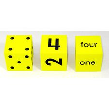 Spot Word Number Dice (Set of 3)