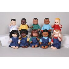 Dolls Multi-ethnic 10-doll School