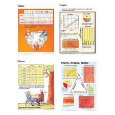 <strong>McDonald Publishing</strong> Poster Set Charts Graphs & Tables