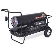 215,000 BTU Forced Air Utility Kerosene/Multi Portable Space Heater