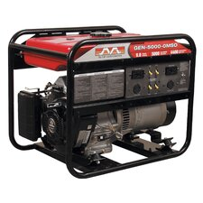 5,000 Watt Portable Gas Generator