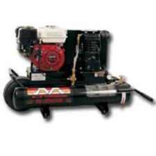 8 Gallon 5.5 Hp Honda 1 Stage 9.0 Cfm Air Compressor