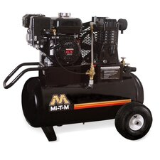 20 Gallon Single Stage Wheelbarrow Air Compressor
