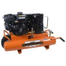 8 Gallon Contractor Subaru Powered Cast Iron Oil Lubricated Air Compressor