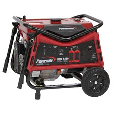 5000 Watt Portable Gas Generator with Recoil Start