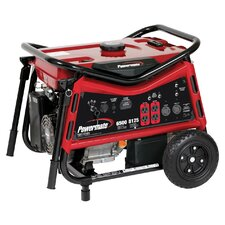 6500 Watt Portable Gas Generator with Recoil/Electric Start - CARB compliant