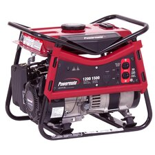 1200 Watt Portable Gas Generator with Recoil Start