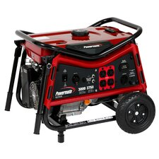 3000 Watt Portable Gas Generator with Recoil Start