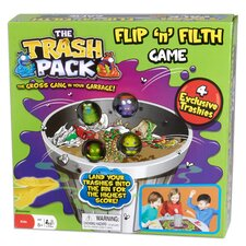 <strong>Pressman Toys</strong> Trash Pack Flip and Filth Board Game