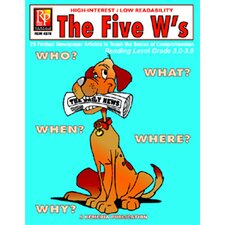 The 5 Ws 3rd Gr Reading Level