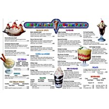 <strong>Remedia Publications</strong> Menu Math Ice Cream Parlor Extra