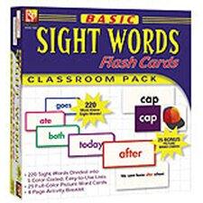 Basic Sight Words Flash Cards (Set of 245)