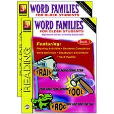 Word Families For Older Student