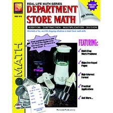 Book Department Store Math Gr 4 - 8