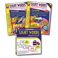 Basic Sight Words Flash Cards Set (Set of 245)