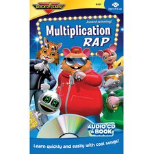Multiplication Rap Cd + Book