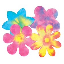 Color Diffusing Flower 80/pk