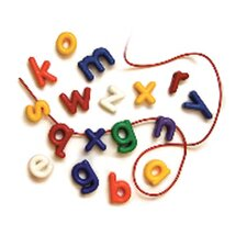 <strong>Roylco Inc</strong> Lowercase Manuscript Letter Beads