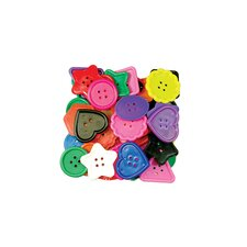 <strong>Roylco Inc</strong> Really Big Buttons 1 Lb