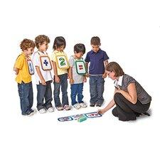 "Dry Erase Classroom Tunics 8.25"" x 2' 1.25"" Whiteboard"