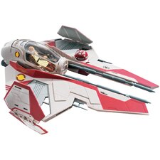 Star Wars Obi-Wan's Jedi Starfighter Spaceship Model Kit